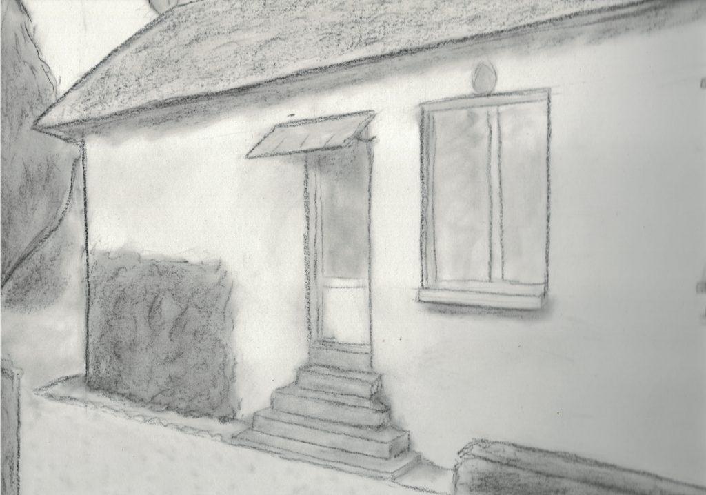 dessin d'une entrée