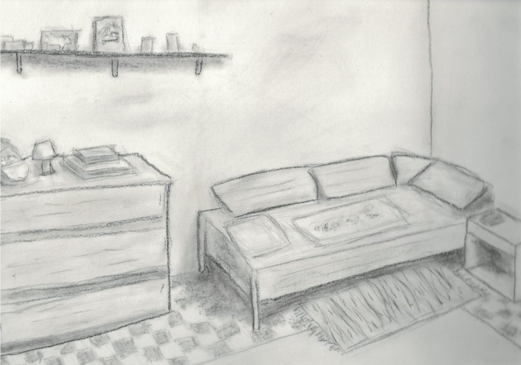 Dessin d'une chambre
