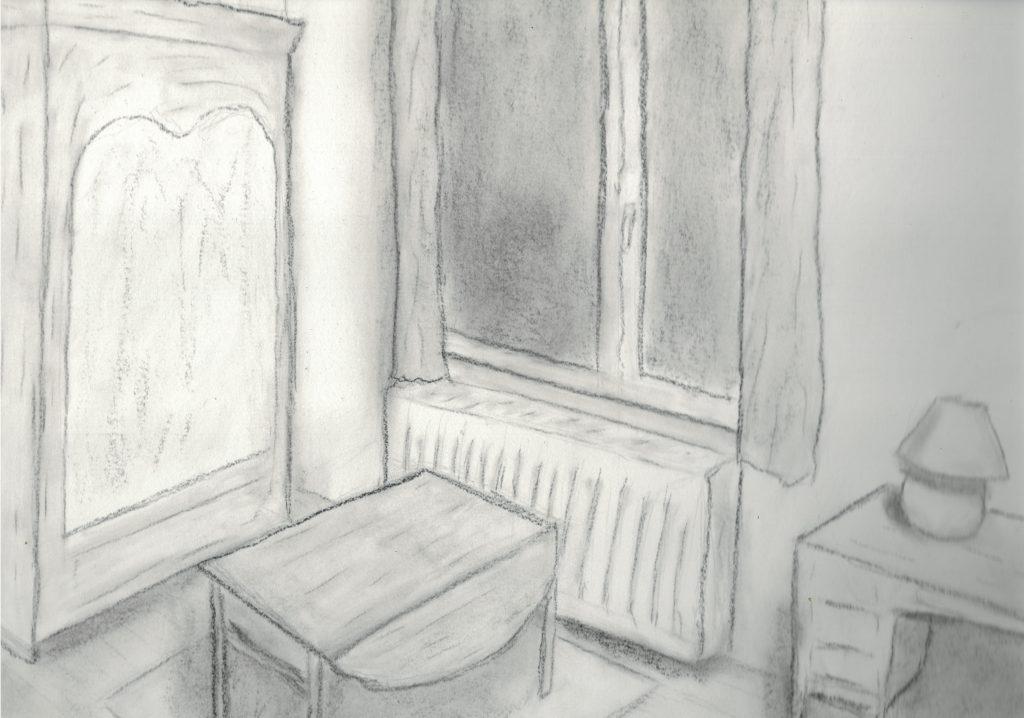 Dessin d'une pièce