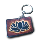 porte-clefs fleur de lotus