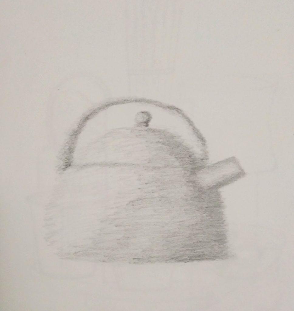 dessin bouilloire