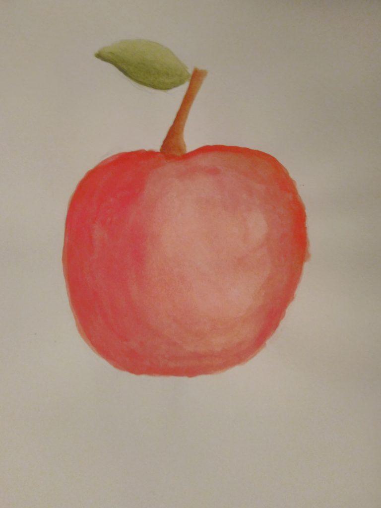 dessin pomme
